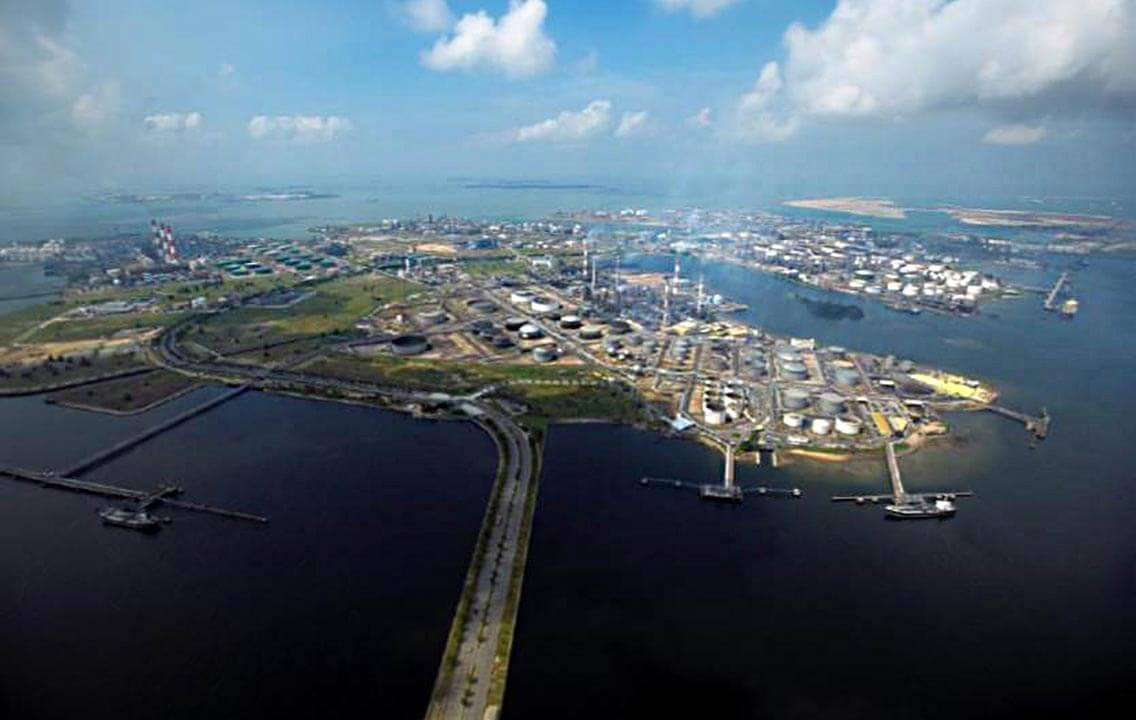 Jurong Island Petrochemical Hub