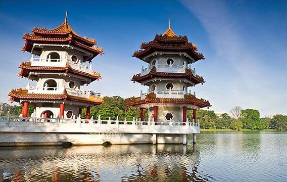 裕廊湖公园、裕华园、星和园和裕廊山