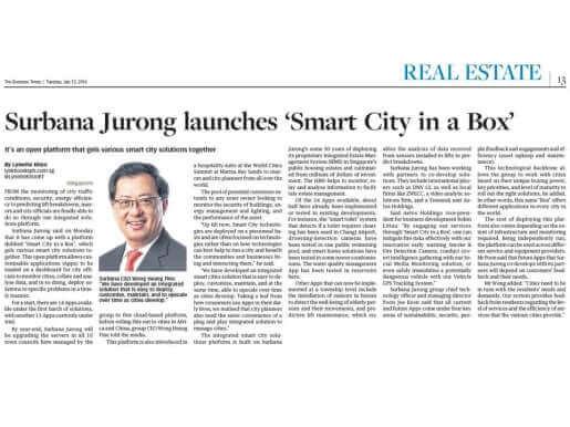 SJ smart city in a box