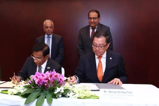 wong heang fine group ceo sri lanka high commissioner of sri lanka