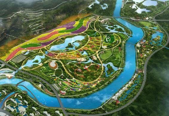 Ju River Wetland ecological park