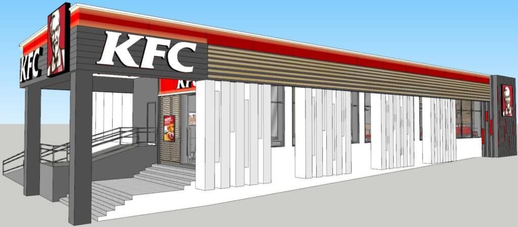 KFC Myanmar m&e engineering services mechanical and electrical engineering services
