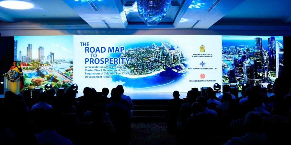 colombo port city DCR master plan design concept Sri Lanka