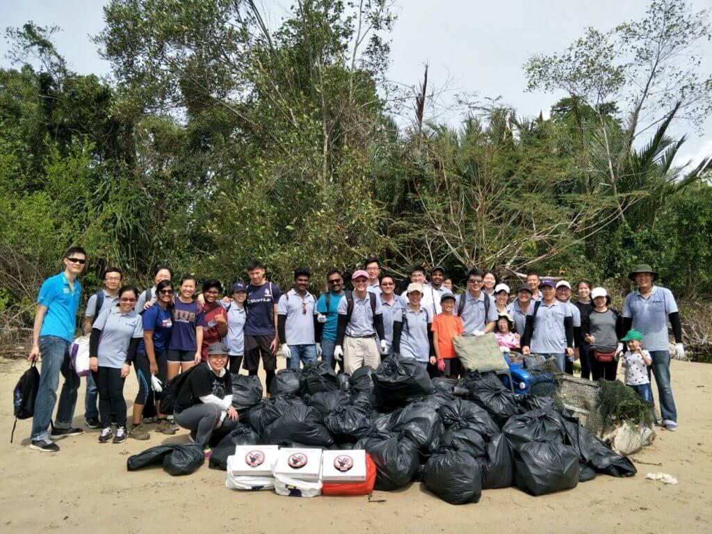 coastal engineering reclamation Chek Jawa CSR
