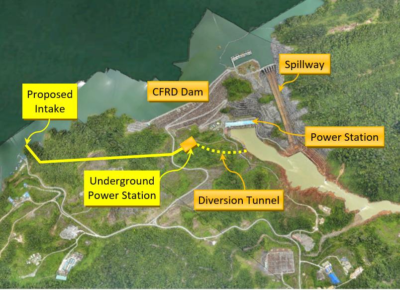 Bakun dam power plant malaysia Bakun power station