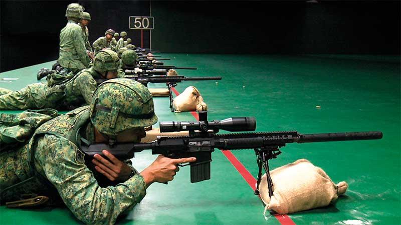 室内实弹射击靶场中心 (MMRC)