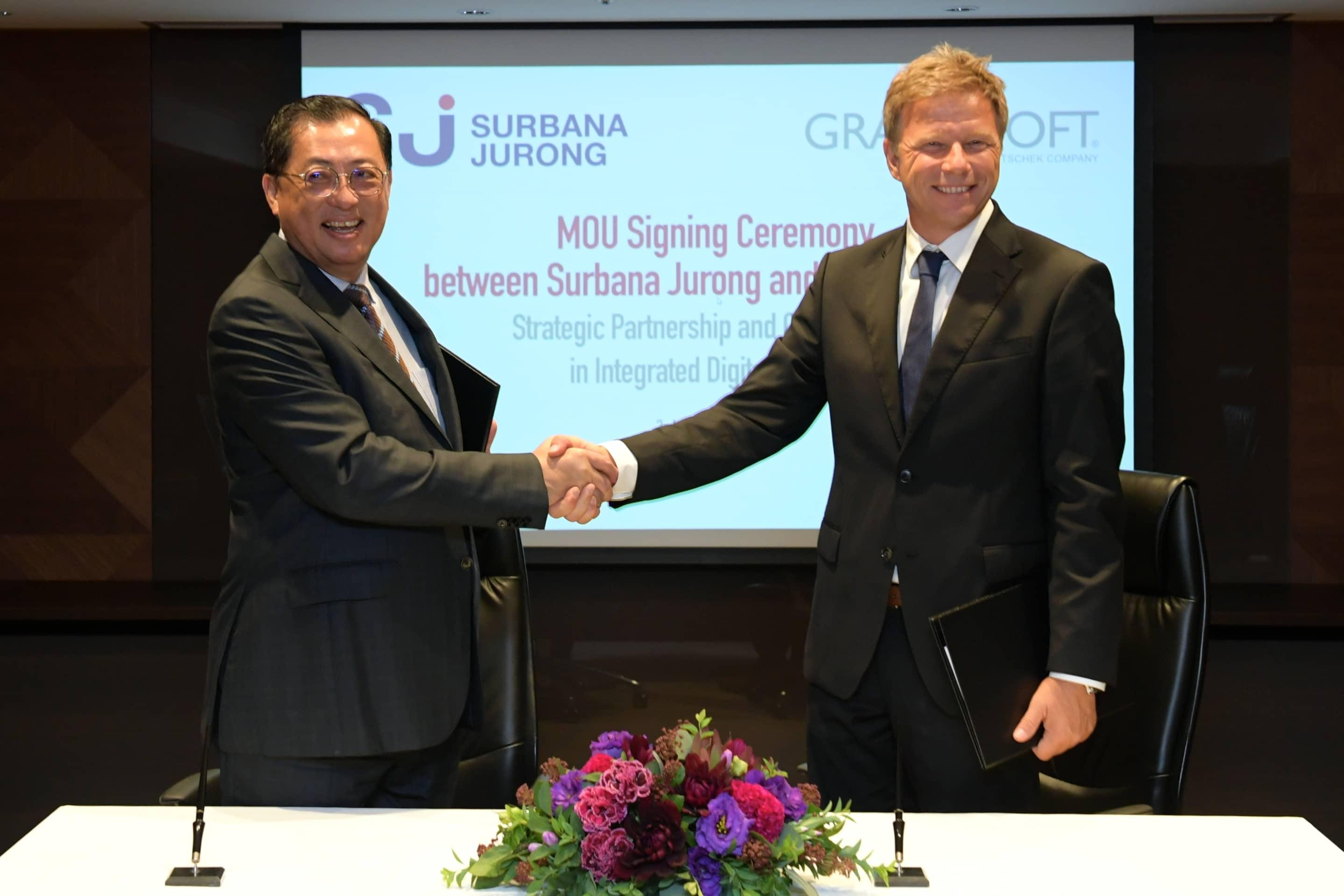 Singapore's Surbana Jurong and GRAPHISOFT SE sign MOU
