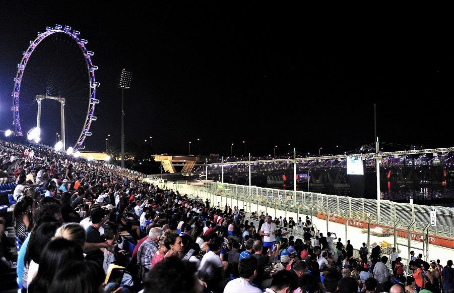 一级方程式赛车新加坡夜间赛