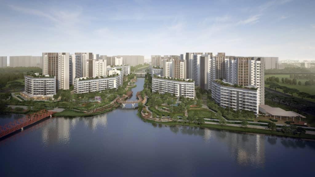 Waterway Sunrise I & II HDB Awards Design